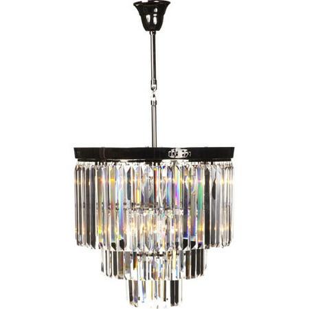 Stilnovo Vanersborg 1-Light Crystal Pendant