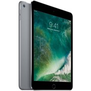 """Refurbished Apple iPad mini 4 with WiFi 7.9"""" Touchscreen Tablet Computer Featuring iOS 10 Operating System, Space Gray"""
