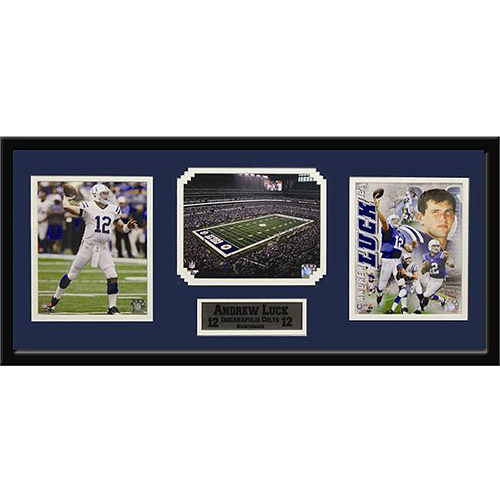 NFL Andrew Luck 3-Photo Frame, 15x35