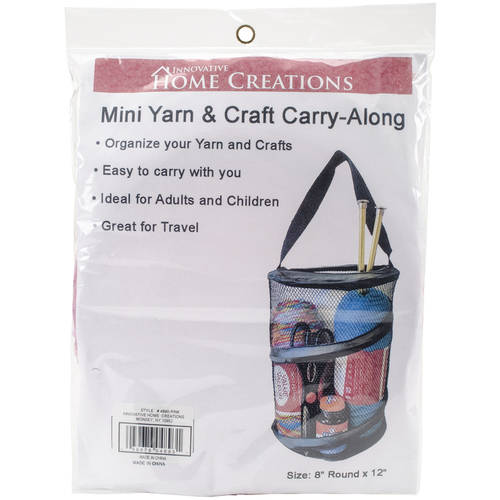 "Mini Yarn & Craft Carry-Along, 8"" x 12"""