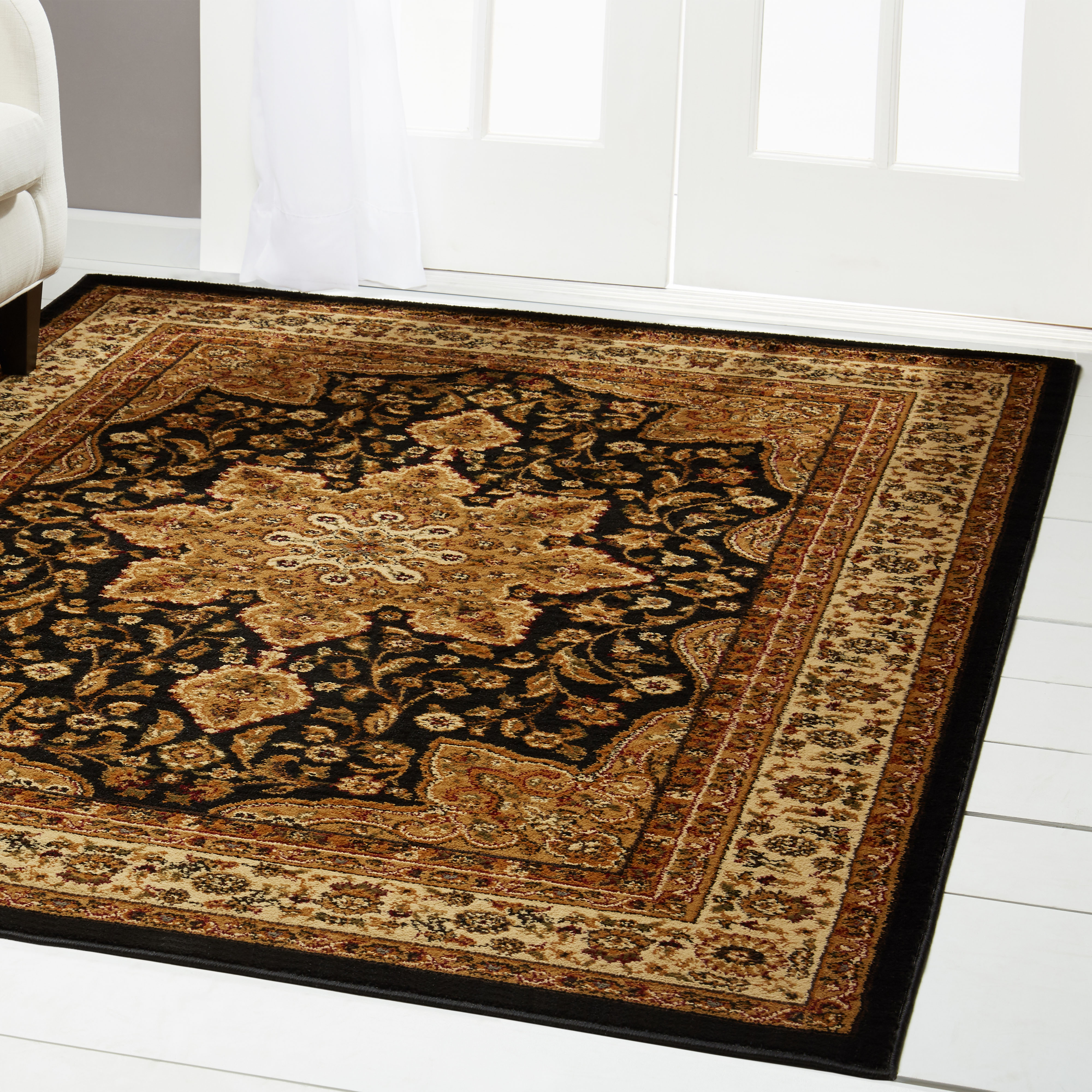 Home Dynamix Royalty Collection Traditional Border Area Rug