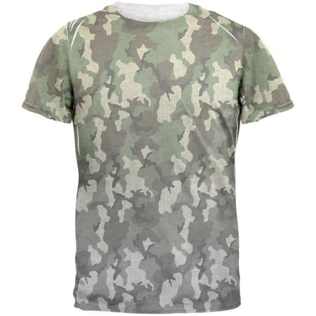 Faded Camo Mens T Shirt