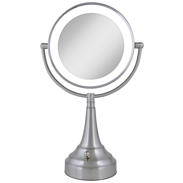 Zadro Led Lighted 10x 1x Vanity Mirror, Zadro Makeup Mirror Replacement Bulbs