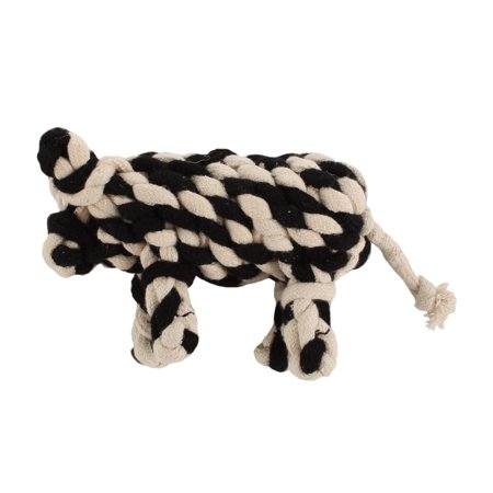 6bd6535cd31 Outback Jack Wooley Cotton Rope Dog Toy, Cow-shaped - Walmart.com