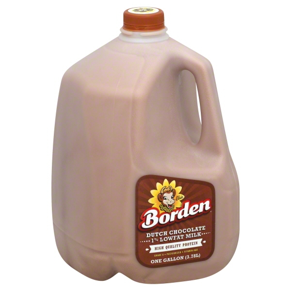 borden 1 lowfat dutch chocolate milk 1 gal walmartcom
