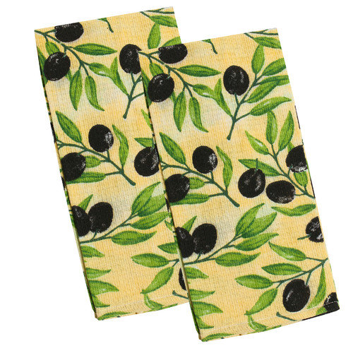Sweet Home Collection Kitchen Dish Towel (Set of 2)