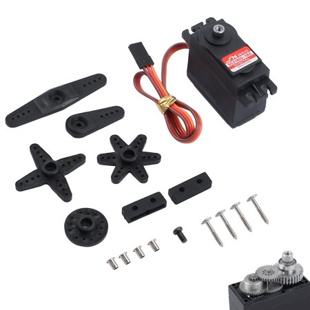 ESYNIC Waterproof 20KG High Torque Metal Gear RC Servo Motor for Toy Airplane Helicopter Boat Car
