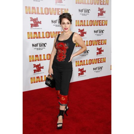 Christina Derosa At Arrivals For Premiere Of Rob ZombieS Halloween GraumanS Chinese Theatre Los Angeles Ca August 23 2007 Photo By Michael GermanaEverett Collection Celebrity - Celebrity Halloween Party Los Angeles