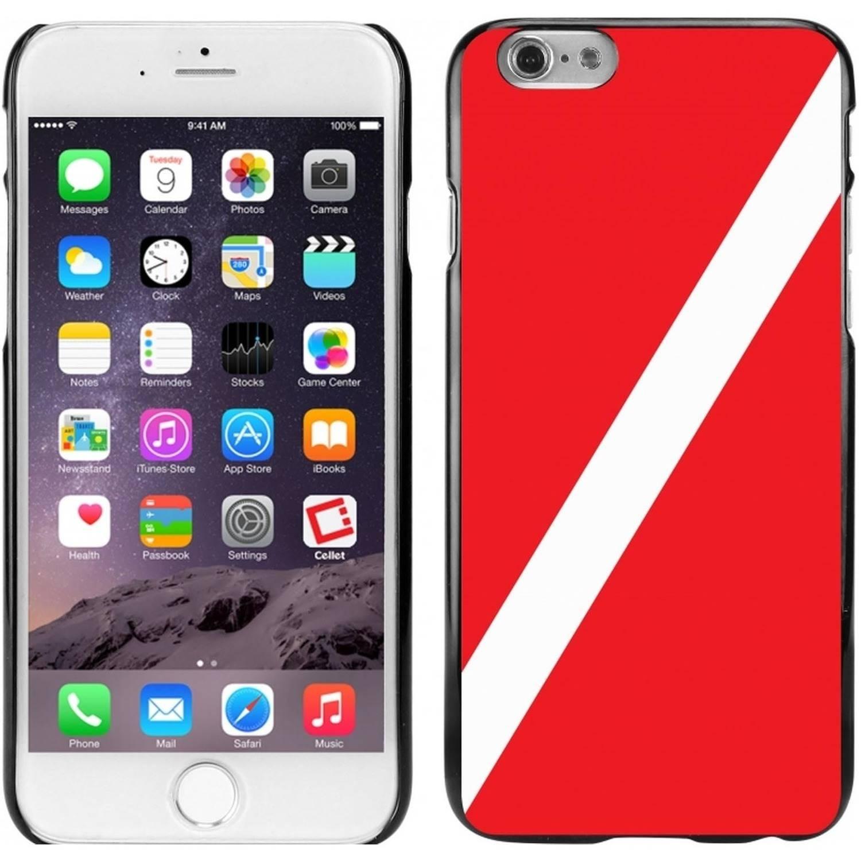 Cellet Black Proguard Case with Scuba Flag for Apple iPhone 6