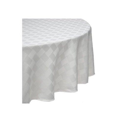 Bardwil Tablecloths Reflections Table Cloth in Pearl