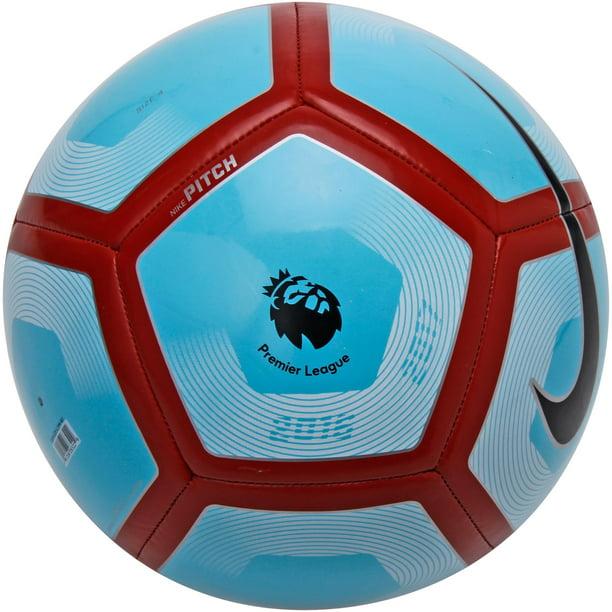 Nike Premier League Nike Pitch Soccer Ball Blue Red 5 Walmart Com Walmart Com