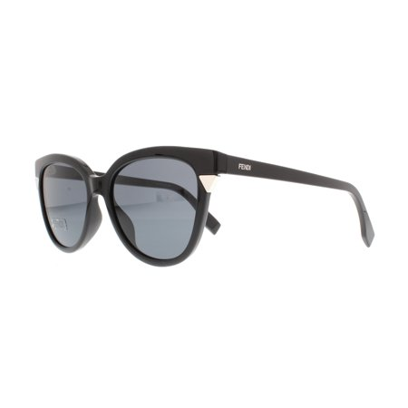 Fendi FF 0125/S D28BN - Shiny Black Orange Havana Sunglasses