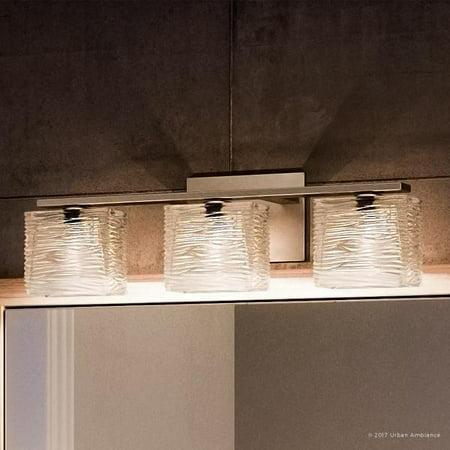 Urban Ambiance Luxury Modern Bathroom Vanity Light Medium Size