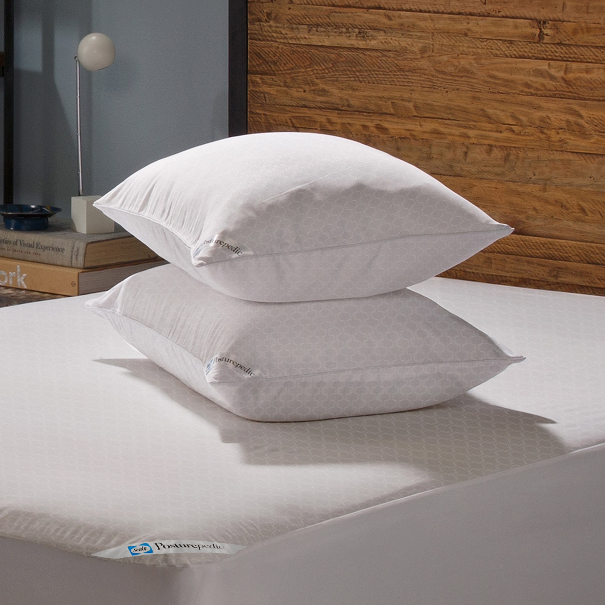 Sealy Posturepedic Allergy Protection Zippered Pillow Protector, 2pk by American Textile