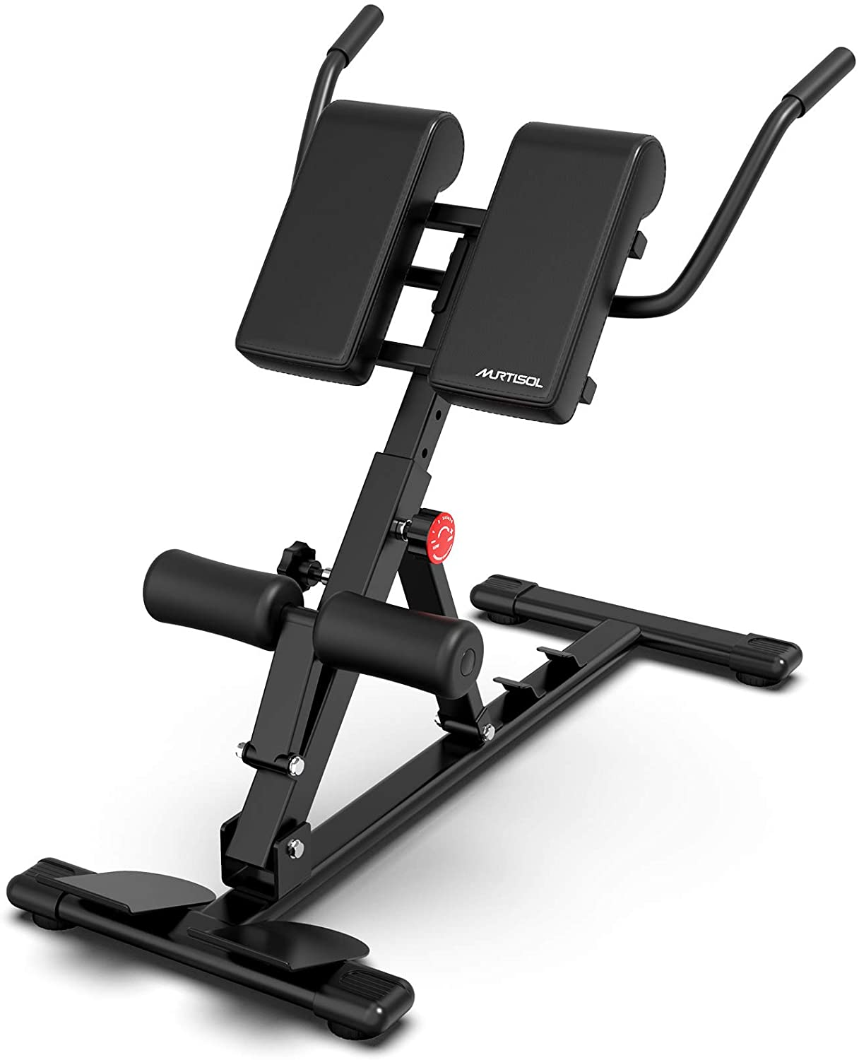 Hyper Extension Roman Chair Workout Abdominal Back Exercise Adjustable Bench USA