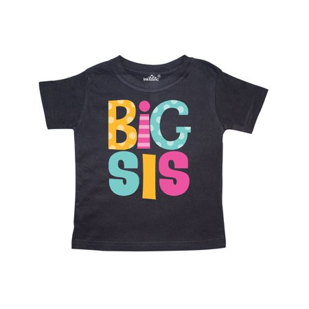 Big Sis Announcement New Sister Toddler T-Shirt
