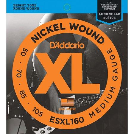 D'Addario ESXL160 Steinberger Double Ball Long Bass Guitar Strings