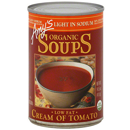 Amy's Kitchen Low Fat Cream Of Tomato Soup, 14.5 oz (Pack of 12)