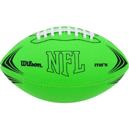 Wilson Sporting Goods NFL Mini Rubber Youth Football, Green
