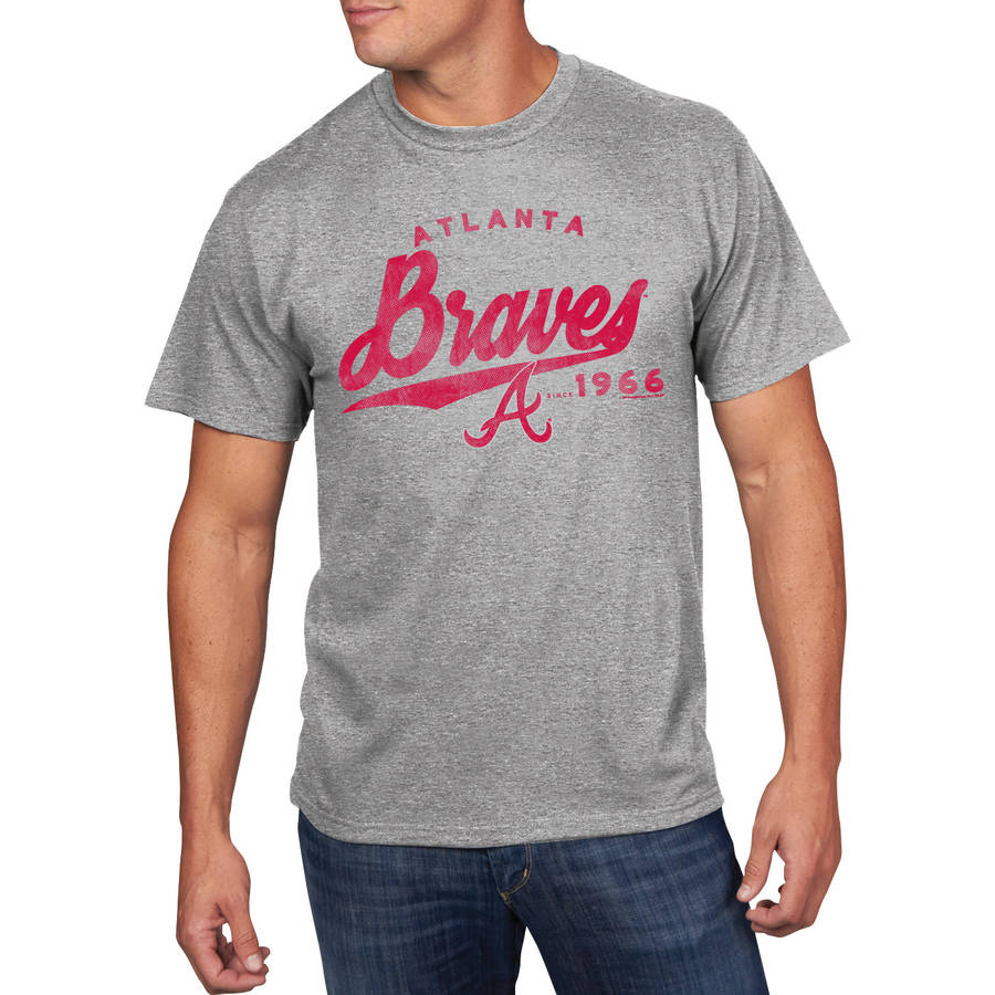 MLB - Mens Atlanta Braves Short Sleeve Team Tee