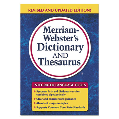 Merriam-Webster's Dictionary and Thesaurus MER7326