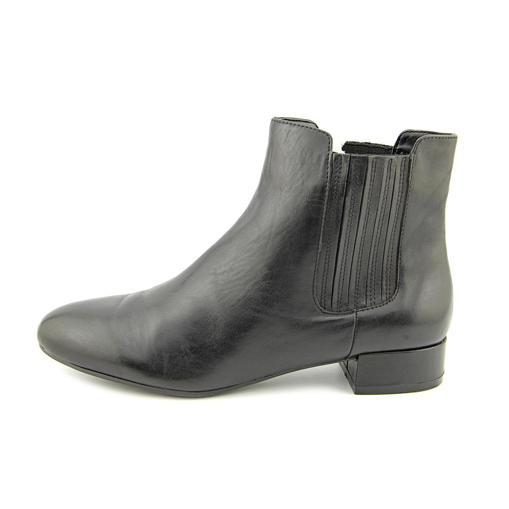 - Marc Fisher Kellen Round Toe Leather Ankle Boot - Walmart.com