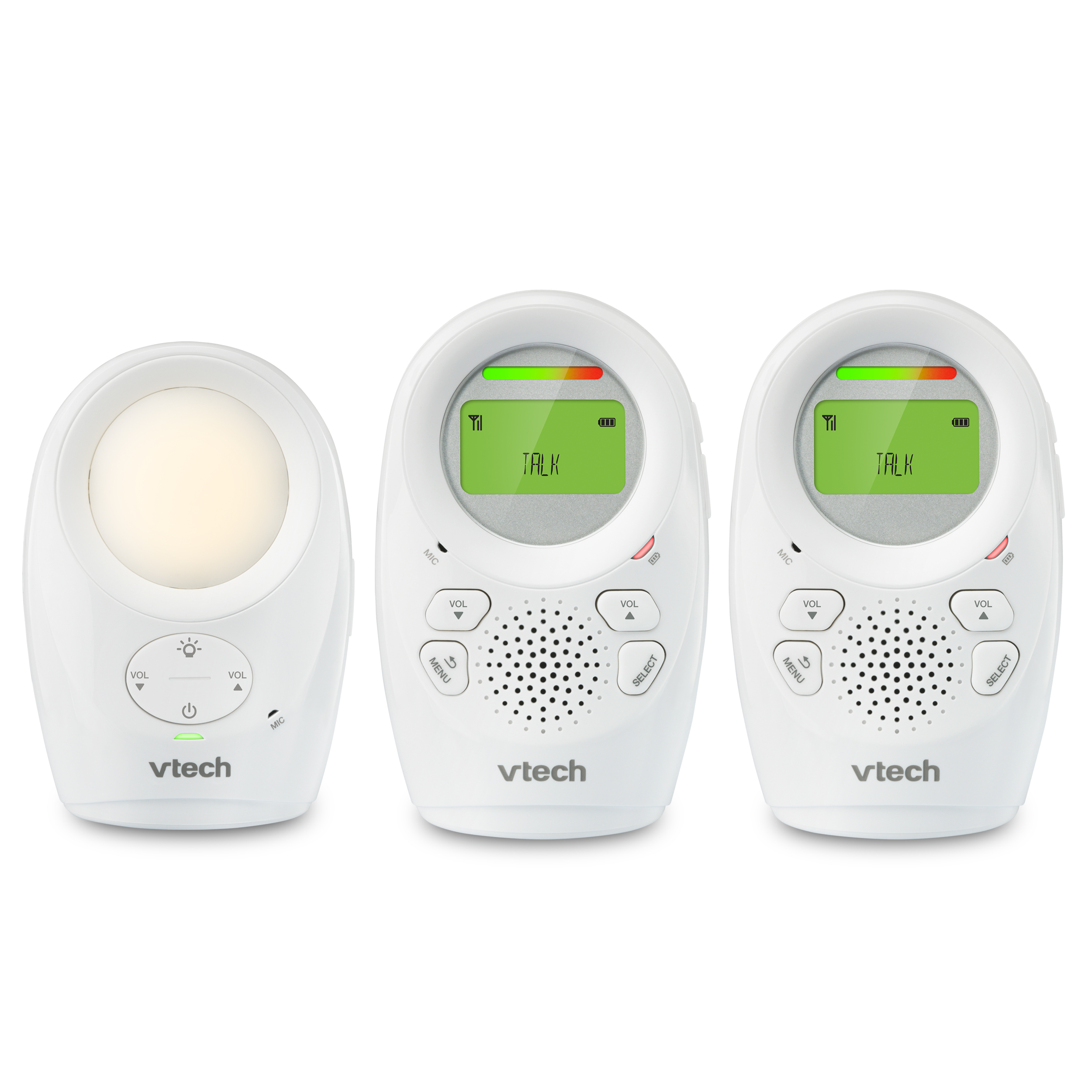 VTech DM112-2, Audio Baby Monitor, DECT 6.0, 2 Parent Units
