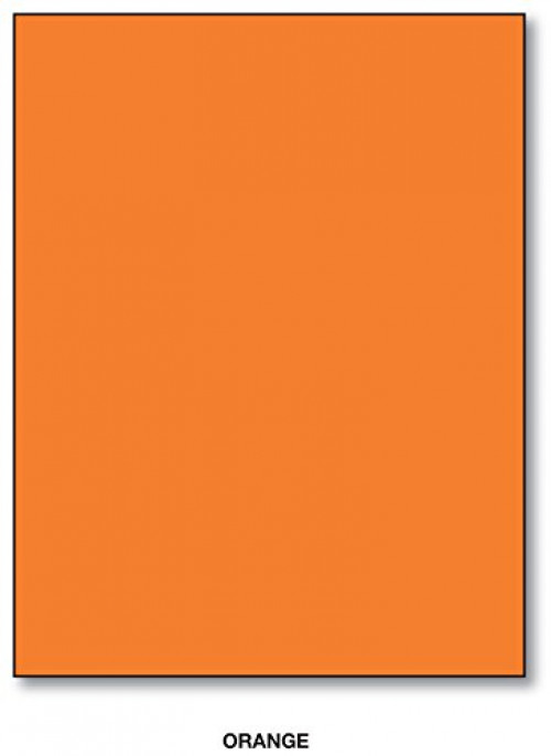 Bright Color Card Stock Paper, 65lb. 8.5 X 11 Inches 50 SHeets Yellow by Superfine Printing Inc.