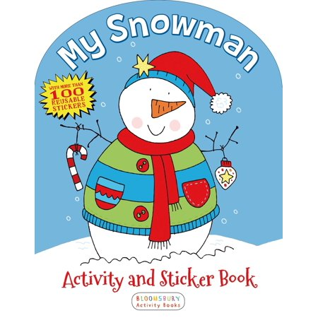 My Plate Activities (My Snowman Activity and Sticker)