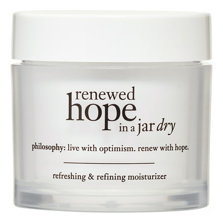 Philosophy Renewed Hope in a Jar Dry, Refreshing & Refining Face Moisturizer, 2 - Jar Moisturizer