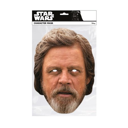 Luke Skywalker Halloween Costumes (Star Wars Luke Skywalker Facemask Halloween Costume)