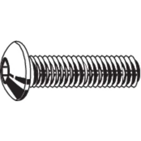 "FABORY 3/8""-16 x 5/8"" Black Oxide Steel Button Socket Head Cap Screw, 50 pk., U07150.037.0062"