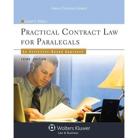 Practical Contract Law for Paralegals: An Activities-based Approach