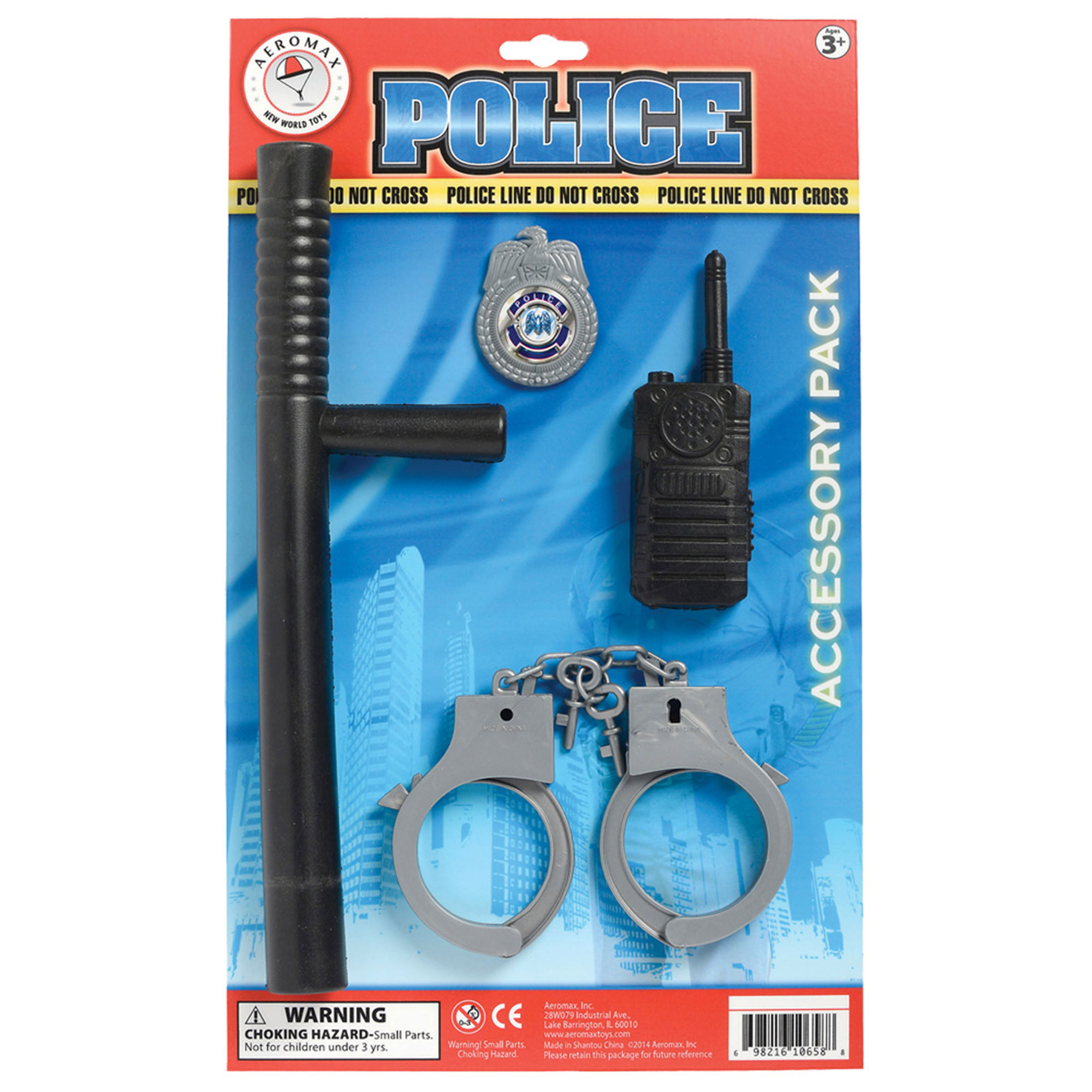 Morris Costumes Child Police Officer Accessory, Style AR37ACC