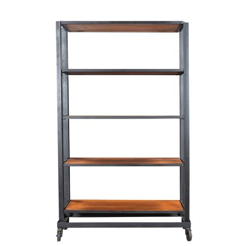 Taran Designs Josh 78'' Etagere Bookcase by