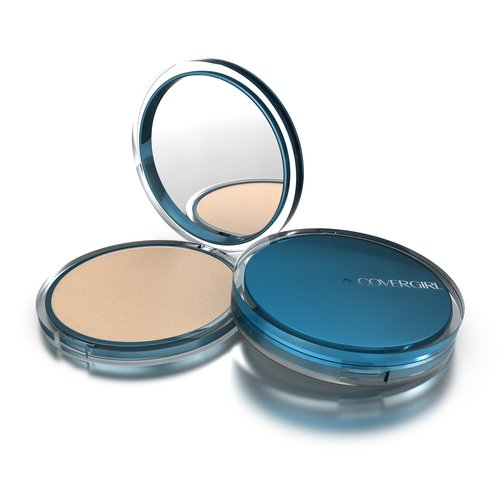 COVERGIRL Clean Matte Pressed Powder, Classic Ivory 510, .35 oz