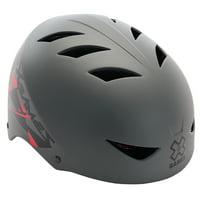 X-Games Multi-Sport Youth Helmet, Gloss Black