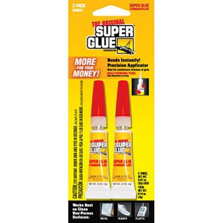 Pacer Tech SGM22-12 Original Bonds Metal, Aluminum, Rubber, Most Plastics, Ceramics, China, Wood, Pottery, Jewelry (2 Pack), The product is 2PK 2G Super Glue By Super Glue Ship from
