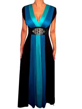 7e12f781ed6 Product Image Funfash Plus Size Clothing Women Black Slimming Block Maxi  Dress New Made in USA