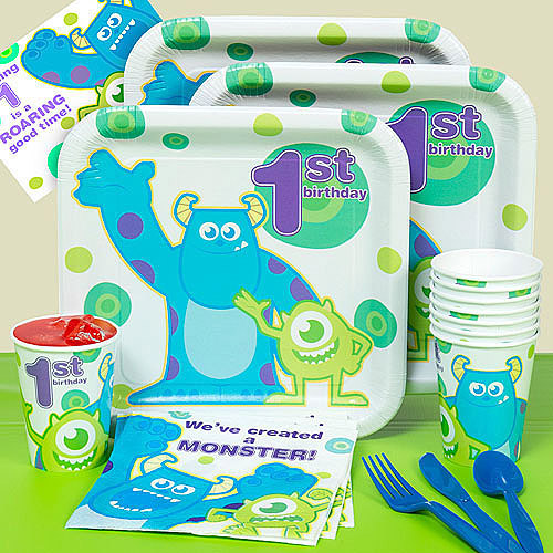 1st Birthday Monsters Party Pack