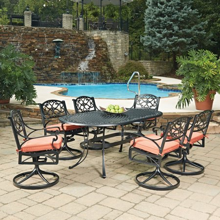 Home Style Swivel Patio Dining Seats