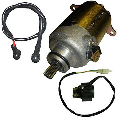 Lumix GC Electric Starter Motor Relay Solenoid For 150cc Eton 150 YXL CXL RXL 150 Yukon Viper Atv Quad (Electric Starter Motor)
