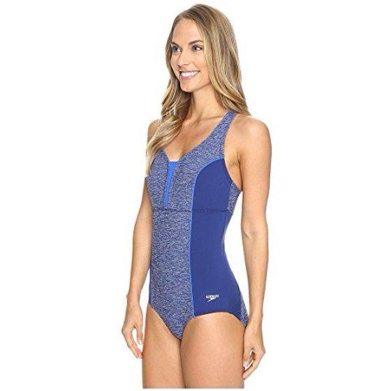 67e7960f0acf9 Speedo Women s Endurance+ Texture Touchback One Piece Swimsuit