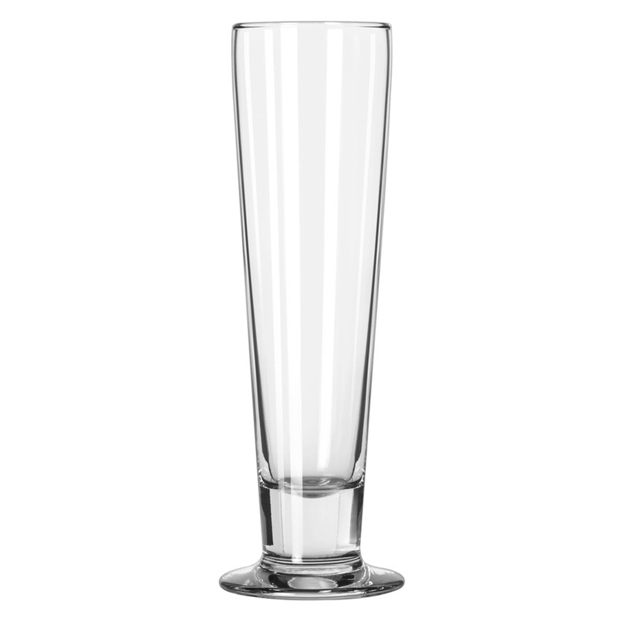 """Libbey Catalina Round Tall Beer Glass Clear, 14.5 oz., 2.75"""" Top Diameter x... by Libbey Glass"""