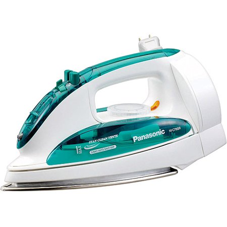 Panasonic Steam/Dry Iron with 3-Way Auto Shut Off, NI-C78SR