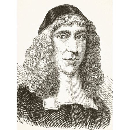 John Owen 1616 To 1683 English Nonconformist Church Leader And Theologian From The National And Domestic History Of England By William Aubrey Published London Circa 1890 - History Halloween England