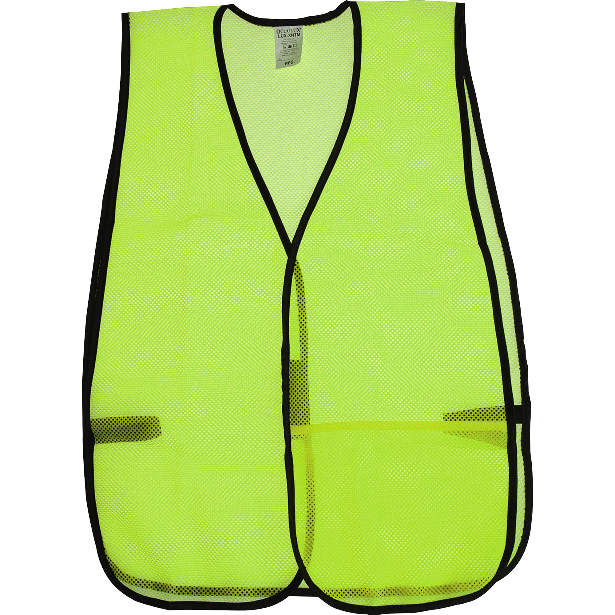 OccuNomix, OCC81006, General Purpose Safety Vest, 1 Each, Lime