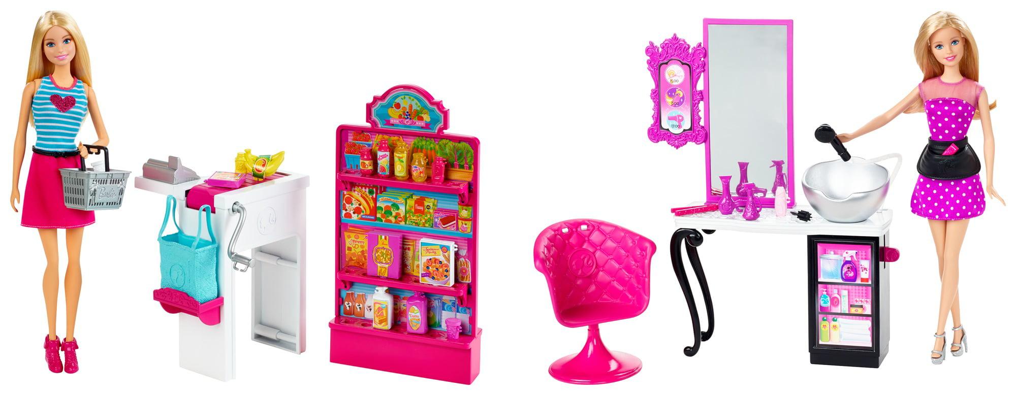 Barbie Malibu Ave Shop with Doll Playset Assortment Parent by Mattel
