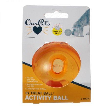 Smarter Toys IQ Treat Ball Toy 3 Diameter Ball - Pack of - Iq Ball 2 Halloween
