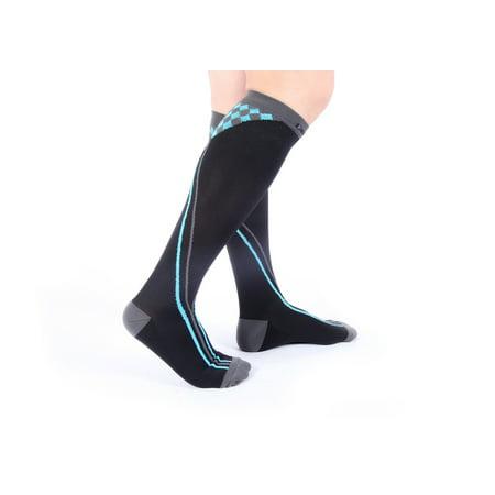 6e0bdd3e7f Doc Miller Premium 20-30 mmHg Compression Socks for Nurses Medical  Graduated Nursing Compression Socks